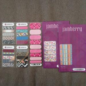 NWT Jamberry Nail Wrap Lot